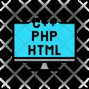 Php File Html File Coding Icon