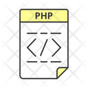 Php File Computer Type Icon