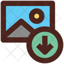 Phto Download Download Downloading Icon