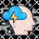 Psychology Mind Power Brain Energy Icon