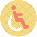Physical Disability Wheelchair Icon