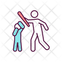 Physical Abuse Icon