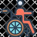 Physically Disorder Disable Icon