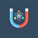Physics Magnet Atoms Icon