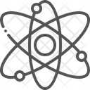 Physics Atom Nuclear Icon
