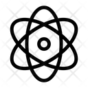 Atom Molecule Orbit Icon