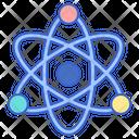 Physics Atomorbit Force Icon