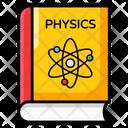 Physics Book Textbook Handbook Icon