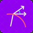 Physics Diagram Refraction Icon