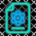 Physics Document File Icon