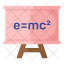 Physics Lecture Lecture Board Easel Icon