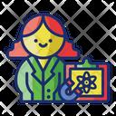 Physics Teacher Chemistry Teacher Education Icon