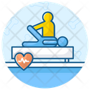 Physiotherapy Body Exercise Body Analysis Icon