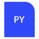 Phyton Script Extension File Icon