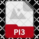 Pi3 file Icon