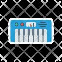 Piano Instrument Tiles Icon