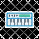 Instrument Piano Keys Icon