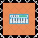Piano Instrument Keys Icon