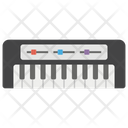 Piano Musical Keyboard Casio Icon