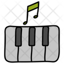 Musical Keyboard Piano Musical Instrument Icon