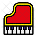Piano Organ Music Icon