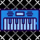 Piano Piano Keyboard Musical Instrument Icon