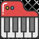 Piano Music Keyboard Icon