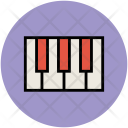 Piano Keyboard Musical Icon