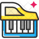 Keyboard Piano Music Instrument Icon