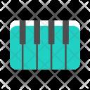 Piano Musical Icon