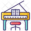 Keyboard Musical Instrument Piano Icon