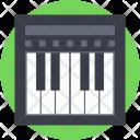 Piano Keyboard Electric Icon