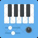 Piano Electric Keyboard Icon