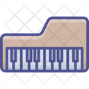 Electrical Instrument Keyboard Synthesizer Musical Keyboard Icon