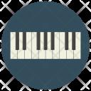 Piano Keys Keyboard Icon