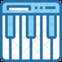 Piano Keyboard Music Icon