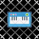 Piano Toy Tiles Icon