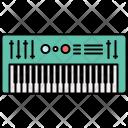 Keyboard Piano Music Icon