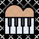 Piano Tiles Musical Icon
