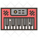 Piano Electric Instruments Icon
