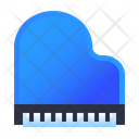 Piano Musical Instrument Icon