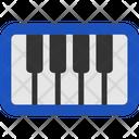 Education Flat Piano Icon