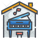 Piano Music Song Icon