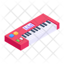 Musical Keyboard Piano Electrical Instrument Icon