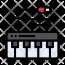 Piano Tiles Electrical Icon