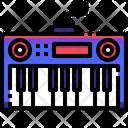 Piano Electone Music Icon