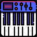 Piano Workstation Music Icon