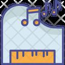 Piano Music Electric Piano Icon