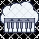 Piano Musical Instrument Keys Icon