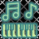 Piano Music Melody Icon